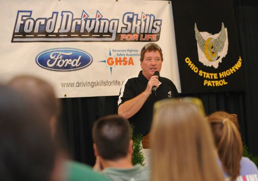 This photo, take at the Ford Driving Skills conference was held in Columbus, Ohio.